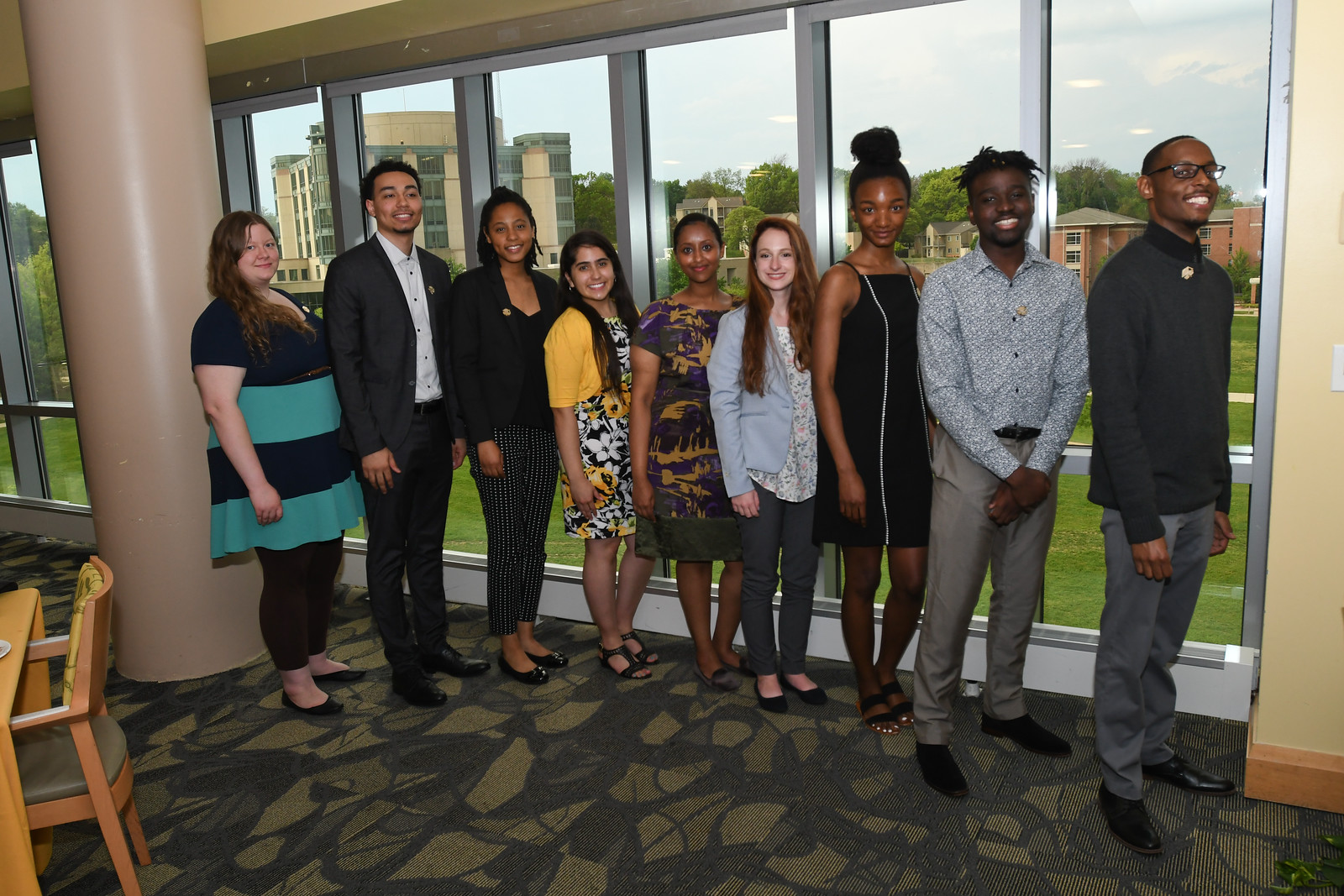 Salute to Graduates and New Scholars Reception