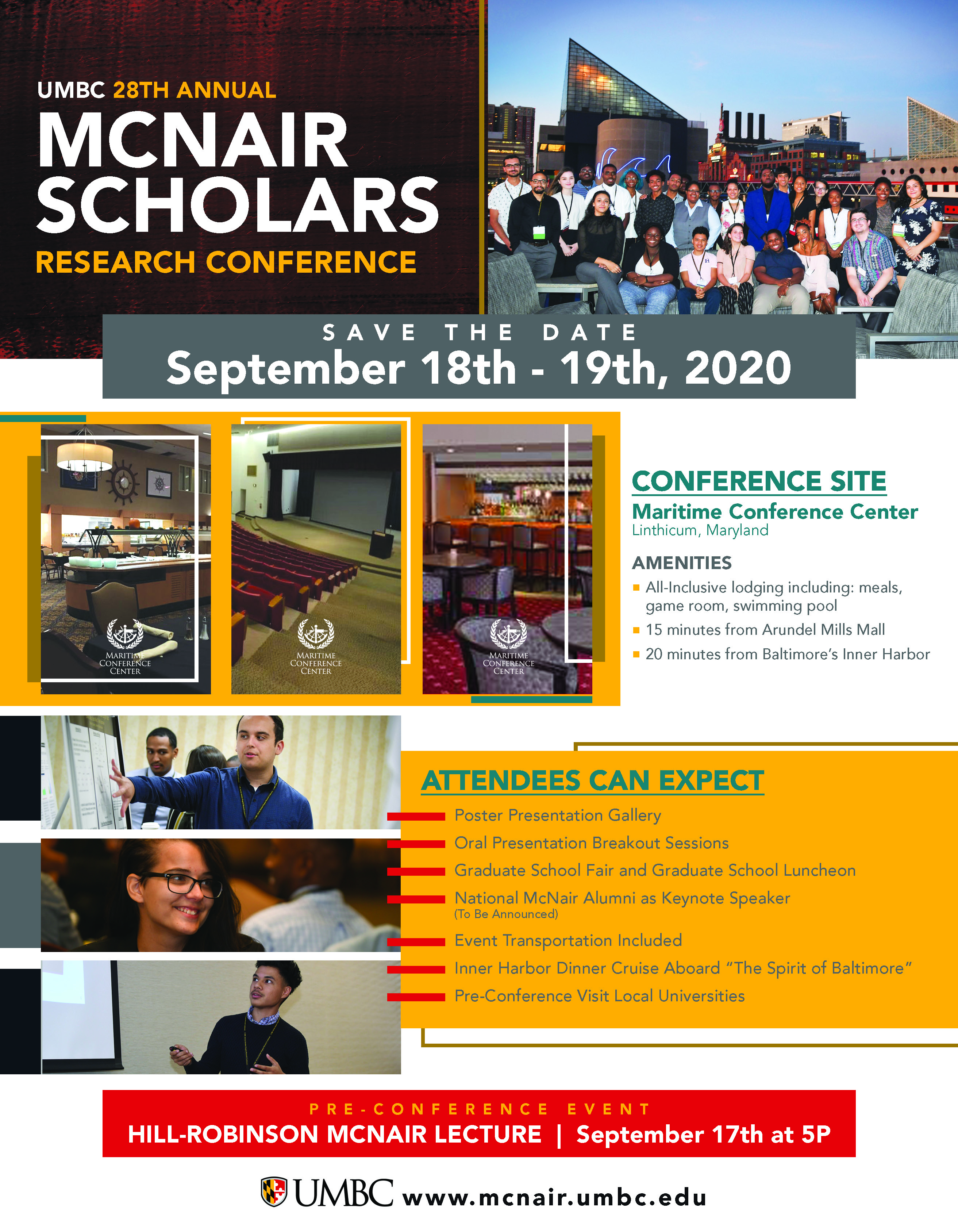 2020 McNair Conference Date